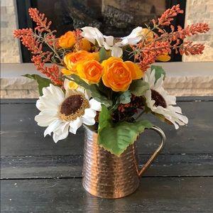 Copper Collection Floral Arrangement